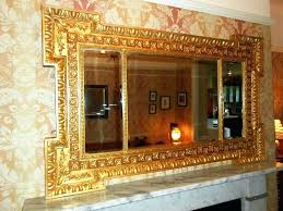 victorian wall mirrors mirror large gilt set bathroom