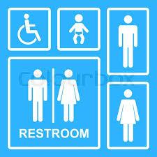mens bathroom sign vector. Exellent Vector WC Icons IsolatedToilet Vector SetVector Restroom IsolatedVector  Toilet Sign  Stock Vector Colourbox Throughout Mens Bathroom Sign E