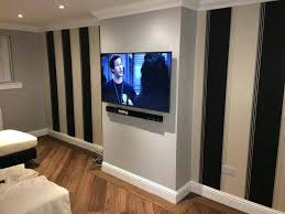 wall mount sound bar wall mounting sound bar sky cabling professional installer plasma led mount services wall mount sound bar