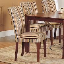 luxury oxford creek striped upholstered dining chair set of 2 multi home furniture dining striped