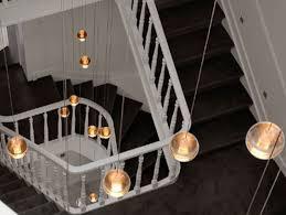 modern stairwell lighting. Modern Stairwell Lighting