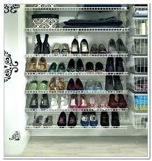 shoe rack closet maid storage home depot shelf closetmaid cabinets organizer 8 for full best shelves