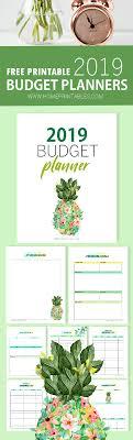 Budget Planners Free Free Printable Budget Planner 2019 Grow Your Savings