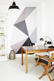 geometric wall paintEasy geometric wall patterns anyone can paint