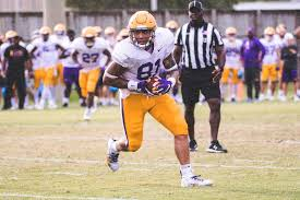 Lsu Football 2017 Depth Chart Pain Pressure And Perseverance Thaddeus Moss And His Climb
