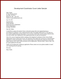 Resume For Non Profit Job Cover Letters For Non Profit Jobs Gallery Cover Letter Sample 64