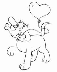 Small Picture Clifford The Big Red Dog Coloring Pages Coloring Pinterest
