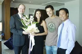 Celebrity love-couple, Cindy & Byron Bishop@ Bangkok Thailand Guide 360  Virtual tours Attractions, Accommodation, Restaurants, Events