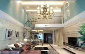 picture of beautiful decorating ideas for living room with high ceilings