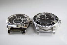 Rolex Case Size Comparison Deepsea Vs Sky Dweller Robs