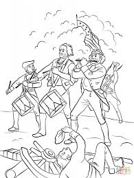 Small Picture Revoltionary War Washington Crossing The Delaware Coloring Page