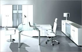 contemporary glass office. Glass Home Office Desk Modern White  Selecting A Better Style Contemporary H