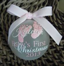 20 Homemade Ornaments for Baby's First Christmas | Keepsakes ...