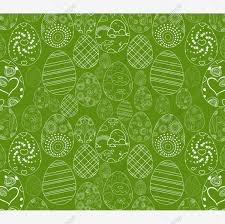 Abstract White Easter Egg On Green Background Easter Eggs