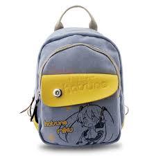 Anime Tokyo Ghoul Hatsune <b>Miku</b> Cosplay Canvas <b>Backpack</b> ...