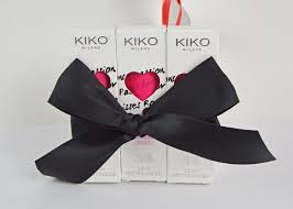 kiko heart shaped lipstick packaging