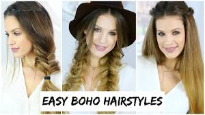 Luxy Hair Style 3 easy boho braid hairstyles luxy hair youtube 4682 by wearticles.com