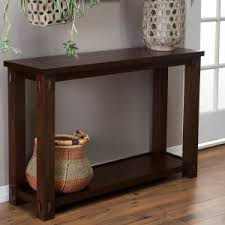 Craftsman & Mission Style Console Tables