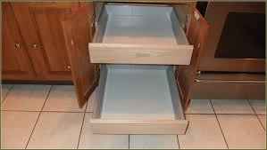Cabinet Drawer Rails Classy Kitchen Cabinet Drawer Slides In Kitchen Cabinet Drawer