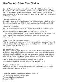 best al islam images islamic quotes quran ldquobull how the salaf raised their childrenrdquo