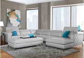 Sofia Vergara Sorrento Platinum 5 Pc Sectional Living Room