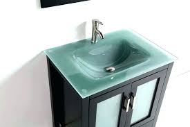 Bathroom Sink Bowls With Vanity Glass  Bowl On Top Of T81