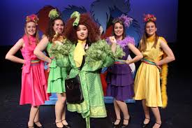 When a small speck of very strange dust floats past horton the elephant, he begins a quest to save the world of the whos, protect a fabulous egg, and make friends that. Young Performers Present Seussical Jr Davis Enterprise