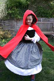 makeup little red riding hood costume diy minute no sew cloak rhcom day u tutorial jpg
