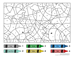 Select from 35428 printable crafts of click the number 3 coloring pages to view printable version or color it online (compatible with ipad. Free Printable Color By Number Coloring Pages Best Coloring Pages For Kids