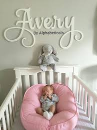decorative wooden letters for walls haleynursery name sign wooden letters for nursery girl ba boy for