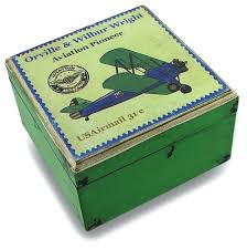 Decorative Boxes Canada Decorative Box Weathered Finish Aviation Pioneer Postage Stamp 36