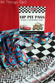 cars birthday party printables cars birthday party printables vip pit passes allthingsgd com