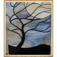 tree and moon by james claydon