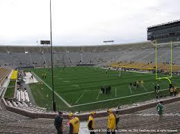 Notre Dame Stadium Seating Chart Garth Brooks Notre Dame Stadium View From Lower Level 3 Vivid Seats
