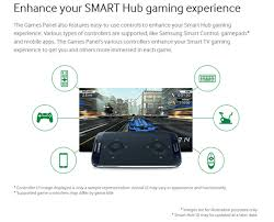 samsung tv game controller. also samsung offer 100 games that can be downloaded directly to your smart tvs. you expect these titles on the same level as mobile for tv game controller