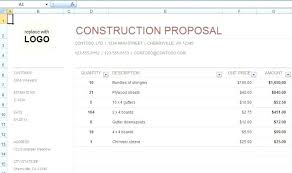 bid proposal forms sample construction proposal forms 7 free documents in doc bid form