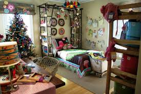 diy teen bedroom decor. Bedroom:Gorgeous Diy Decorating Idea For Teen Room With Christmas Tree And Wall Lights Inspiring Bedroom Decor