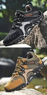 Prelesty New Summer Fashion Cool <b>Durable</b> Soft <b>Men</b> Hiking Shoes ...