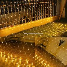 Battery Operated Net Lights With Timer Promotional Battery Operated Net Mesh Lights Outdoor Warm