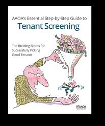 aaoa tenant screening. Fine Tenant AAOAu0027s Essential StepbyStep Guide To Tenant Screening With Aaoa E