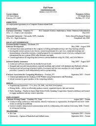 job search objective examples 2695 best resume sample template and format images on pinterest