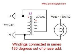 voltage buck boost transformer connections tutorial buck boost transformer working principle at Buck Transformer Diagram