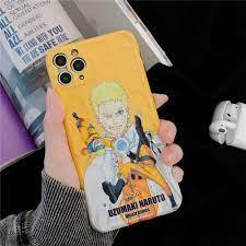 Mytoto New Naruto Anime Sasuke Uzumaki Phone Case For IPhone 11 Pro X XR XS  MAX