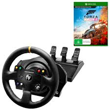 thrustmaster tx racing wheel leather edition with t3pa pedals forza horizon 4 bundle the men