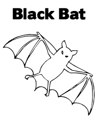 Small Picture Bat Coloring Pages GetColoringPagescom