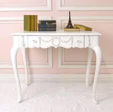 French White Writing Desk Photo