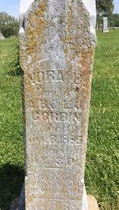Nora Burris Corbin (1885-1886) - Find A Grave Memorial