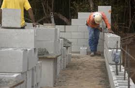 Cinder Block Outdoor Kitchen How To Build A Cinder Block Wall