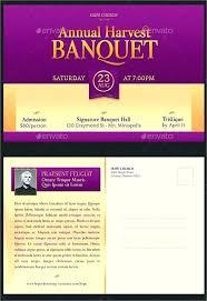 Invitation Postcard Templates Free Banquet Invitation Template