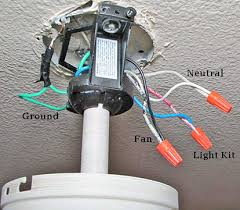 ceiling fan and lights box